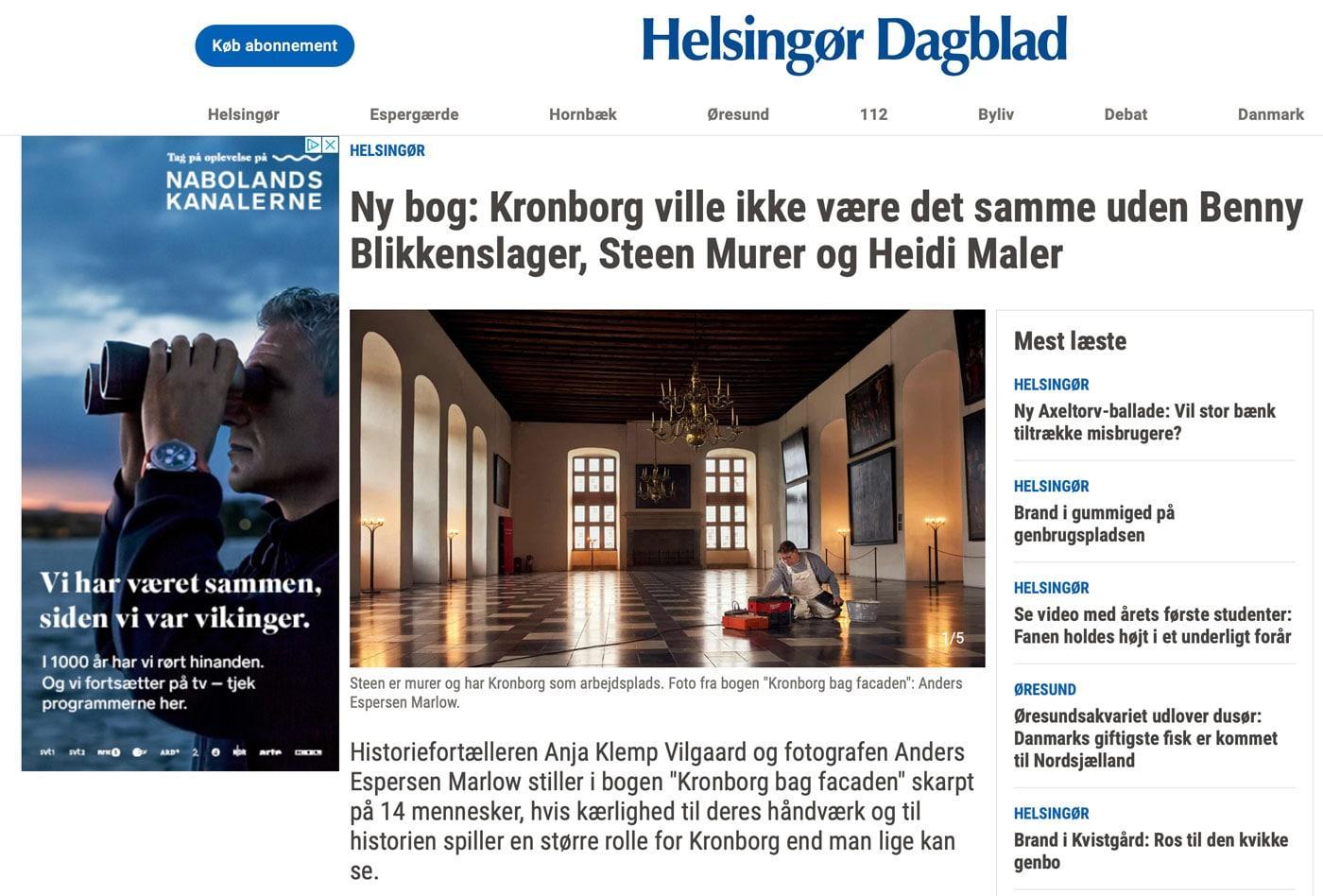 Presseomtale Helsingør Dagblad
